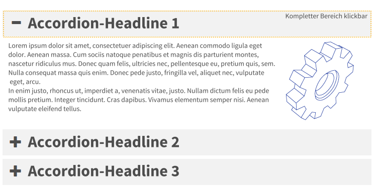 TYPO3 Bootstrap Package: Accordion